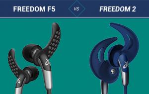 Jaybird Freedom F5 vs Freedom 2