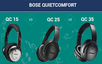Bose QuietComfort 15 vs 25 vs 35: Which should you buy?