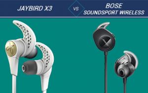 Jaybird x3 vs Bose SoundSport Wireless