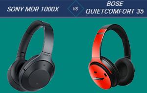 Sony MDR 1000X vs Bose QuietComfort 35
