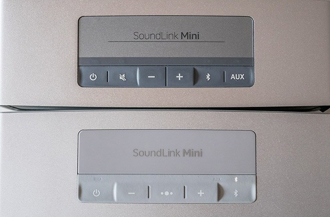 Bose SoundLink Mini 1 vs 2 Controls Buttons
