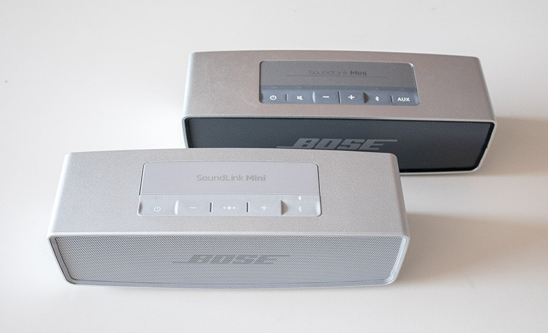 Bose Soundlink Mini 1 vs 2 Design