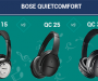 Bose QuietComfort 15 vs 25 vs 35